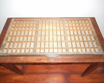 Vintage Letterpress Drawer