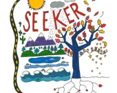Seeker, Peace Sign T Shirts