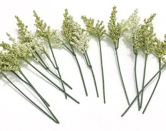 One Lot Heather Stems - Foam Berry Stems - Flower Crown, Hair Accessories