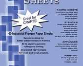 "3 packages Freezer Paper 12"" x 15"""