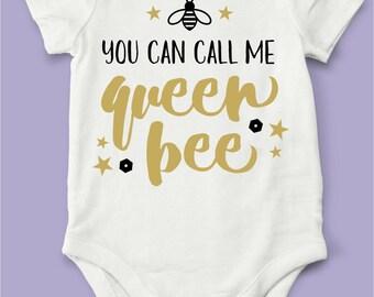 Queen Bee Onesie!
