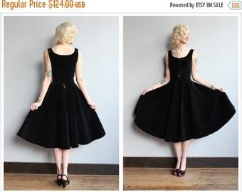 Sale 1950s Dress Set // Quilted Dirndl Top & Skirt // vintage 50s 2piece set