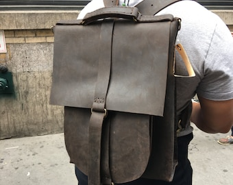Elegant backpack, Leather rucksack, Handcrafted leather bags, Stylish backpacks, American made leather bags, Personalized, Custom rucksack