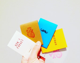 Mix & Match Matchbook Notepads