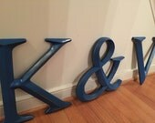 Wall Decor, Large Letter Decor, Wedding Decor, PICK YOur LETtEr and YouR COLor, A-Z