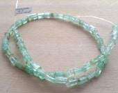 RESERVED For Tina...Amazing rough coloumbian emerald natural form nugget beads