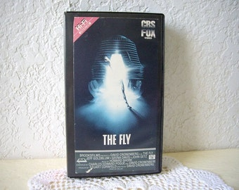 VHS Movie, THE FLY.  1986.  Rare and hard to find.