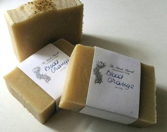 Blood Orange Handmade Soap