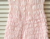 Vintage Square Dance Bloomers/Womens Teens/Lacey Pantaloons/Costume Theater/Choose Color: Pink Blue/Poly Cotton/Pageant Juniors