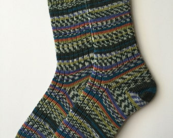 Regia Ladies' Wool Socks, Design Line, Colorations Color by Kristine Nicholas