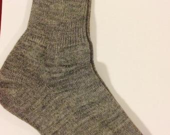 Alpaca Dress Socks - Mens - DARK GREY