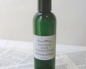 Natural Hair Conditioner, Rinse Out or Leave In, Pick Your Scent