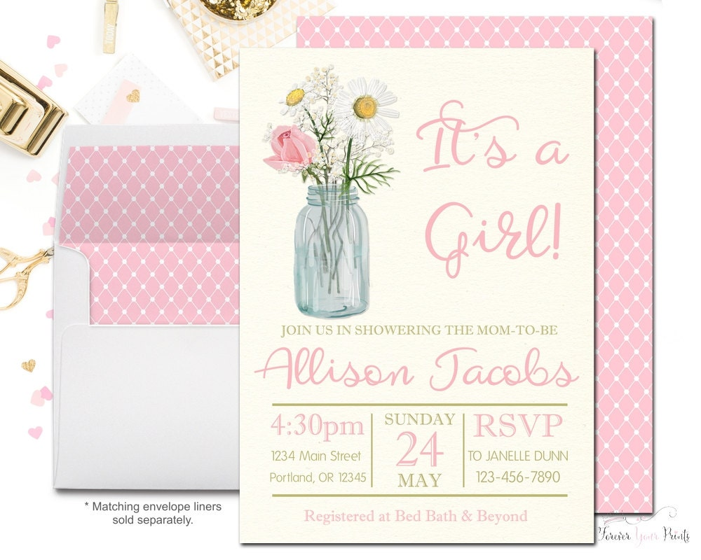 Country Baby Shower Invitations – gangcraft.net