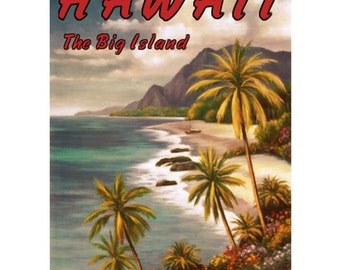 HAWAII 4- Personalized Leather Journal Cover Moleskine Field Notes Custom