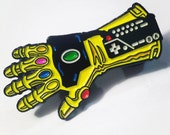 Power Gauntlet Enamel Pin - Soft Enamel - Retro Gaming and Comic Book Inspired