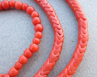 African Snake Beads