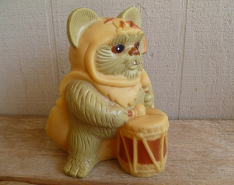 "Star Wars Return of The Jedi Ewok ""Wicket"" Bank 1983"