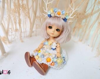 Lati Yellow Secret Flowers dress
