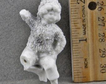 Antique Excavated Frozen Charlotte  Miniature Vintage German Doll  Altered Art