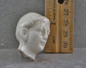 Vintage Antique Excavated German Doll Head