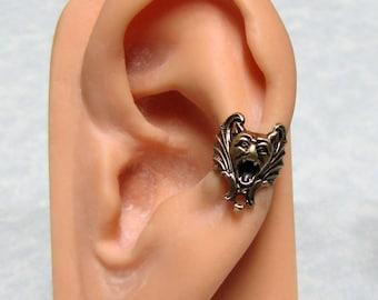 Gargoyle Vampire Bat Ear Cuff