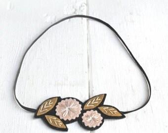 SUMMER SALE Boho Headband,  Flower Headband, Festival Headband, Rustic Weddings Headband, Outdoor Wedding Headband, Floral Headband