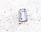 MILK BOTTLE enamel pin