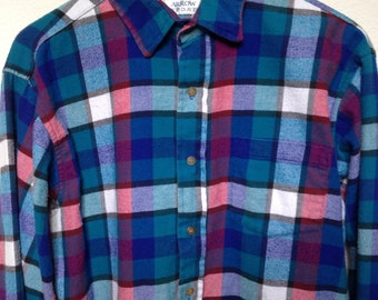 Womens Quilted Flannel Shirt