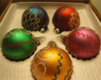 Set of Five Ornaments - Italy
