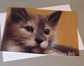 Lola the Cat art card by ...