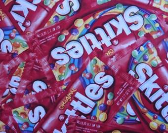 Skittles Fabric -  Mars Skittles Packed # 59951D650715