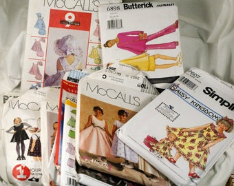 pattern lot of 14 girls,infants  Butterick McCall's Simplicity patterns