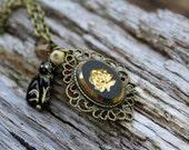 Black Gato Necklace