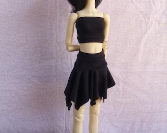 MSD BJD Knit Handkerchief Hem Skirt