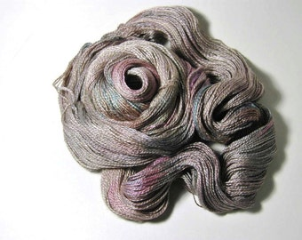 Silk Baby Camel Lace in Morning Dew - One of a Kind
