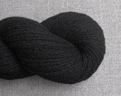 Pure Cashmere DK Recycled Yarn, Black, Light Worsted Weight