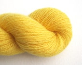 Lace Weight Recycled Cashmere Yarn, Sunshine Yellow