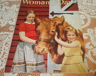 1943 August Woman's Day Magazine