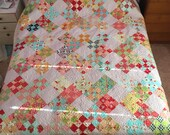 Niner - Thimble Blossoms Quilt, Bonnie and Camille Fabrics, Large Quilt