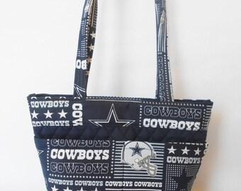 Dallas Cowboys // We have it in other NFL teams  //   Shoulder Bag  // Purse  // Bingo bag