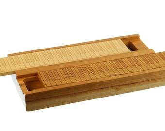 Earring Storage Box, Solid Cherry Hardwood, Laser Engraved PIANO KEYS, Paul Szewc