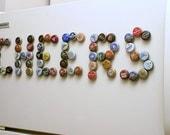 6-pack Craft Beer Bottle Cap Magnets