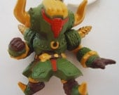 A Japanese Monster Figure Collection Pendant.Handmade Proyects. Japanese