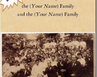 Personalized Genealogy/Family History Book