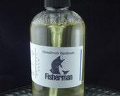 FISHERMAN Men's Beard Wash & Body Wash, 8 oz, Black Licorice Scent Organic Castile Soap, Shampoo Hand Soap, Fishing Outdoors Catfish Boating