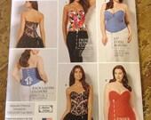 5 BUCKS Simplicity 1183 Corset Sewing Pattern FF Size 10 to 18