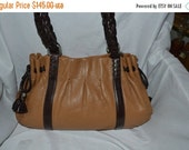 On Sale Brighton ~Brighton Bag~Leather Bag~Huge Bag~Silver~Silver Hardware USA Made
