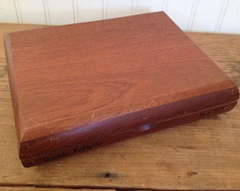 Vintage Wood Cigar Box - Dominican Cigars