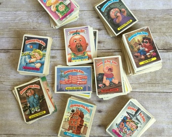 Vintage 1986 & 1987 Garbage Pail Kids Cards Set of 400+