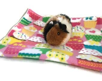 Guinea pig fleece cage liner, Waterproof pad, fleece pet bedding, changing pad
